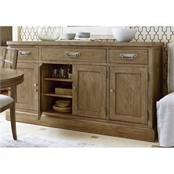 Universal Furniture Moderne Muse Sideboard in Bisque