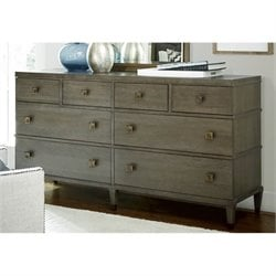 Universal Furniture Playlist 8 Drawer Dresser in Brown Eyed Girl