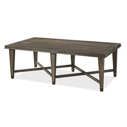 Universal Furniture Playlist Coffee Table in Brown Eyed Girl