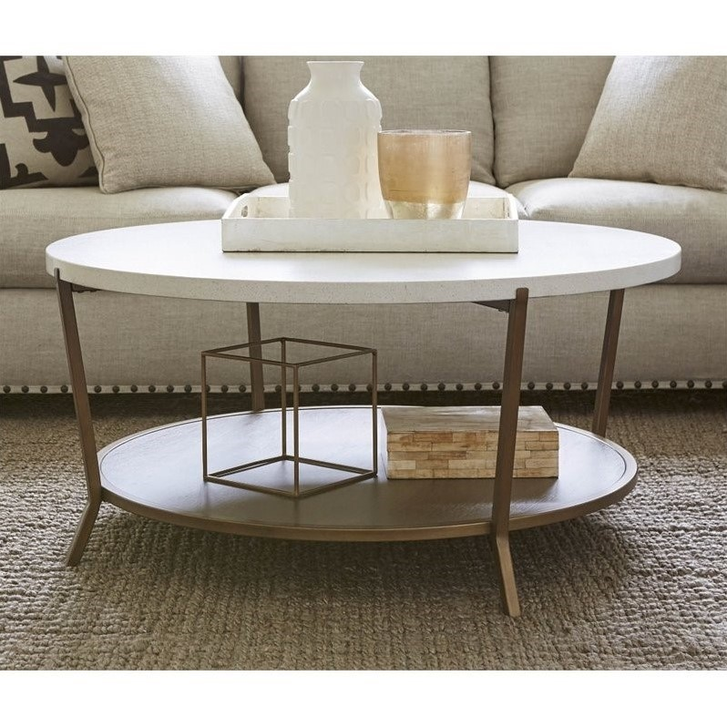 Universal Furniture Playlist Round Coffee Table In Brown