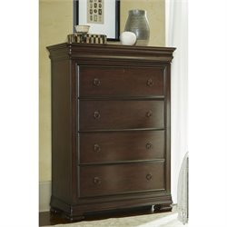 Universal Furniture Reprise 4 Drawer Chest in Rustic Cherry