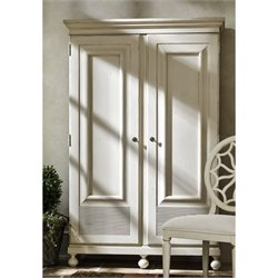 Universal Furniture Sojourn Wardrobe Armoire in Summer White