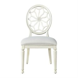 Universal Furniture Sojourn Dining Side Chair in Summer White