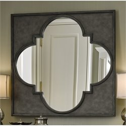 Universal Furniture Sojourn Metal Accent Mirror in Metal