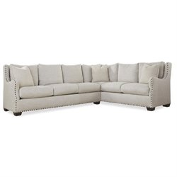 Universal Furniture Connor 2 Piece Upholstered Right Sectional