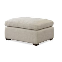 Universal Furniture Haven Upholstered Ottoman in Linen