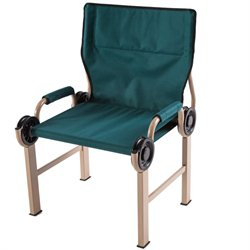Disc-O-Bed Disc-Chair Portable Camp Chair in Green
