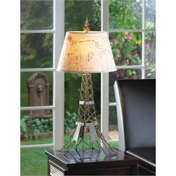 Zingz and Thingz Parisian Table Lamp