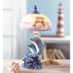 Zingz and Thingz Dolphin Table Lamp