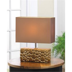 Zingz and Thingz River Rock Table Lamp