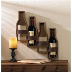 Zingz and Thingz 4 Slot Wine Wall Rack