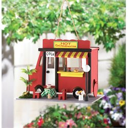 Zingz and Thingz Hot Dog Birdhouse