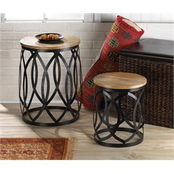 Zingz and Thingz Contemporary Accent Tables (Set of 2)