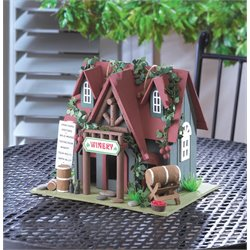 Zingz and Thingz Cottage Winery Birdhouse