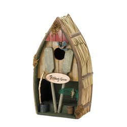 Zingz and Thingz Fishing Boat Birdhouse