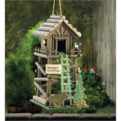 Zingz and Thingz Ranger Station Birdhouse