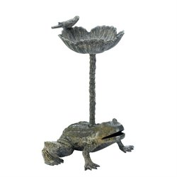 Zingz and Thingz Leap Frog Bird Bath