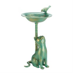 Zingz and Thingz Cat Bird Bath