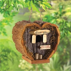 Zingz and Thingz Love Shack Birdhouse