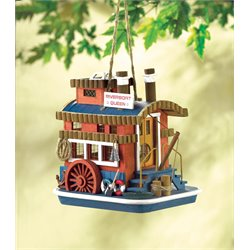 Zingz and Thingz Riverboat Queen Birdhouse