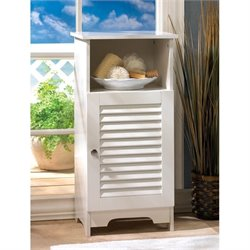 Zingz and Thingz Nantucket Storage Cabinet in White