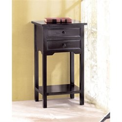 Zingz and Thingz Side Table in Black