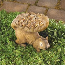 Zingz and Thingz Woodland Squirrel Birdfeeder