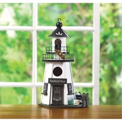 Zingz and Thingz Nautical Nest Birdhouse