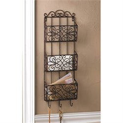 Zingz and Thingz Vintage Charm Triple Wall Rack