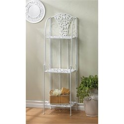 Zingz and Thingz Lace Design Shelving Rack