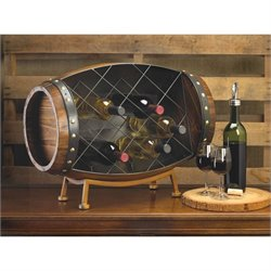 Zingz and Thingz Cask Wine Bottle Rack