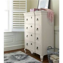 Smartstuff Genevieve 4 Drawer Chest in French White