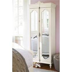 Smartstuff Genevieve Mademoiselle Couture Armoires in French White
