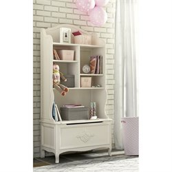 Smartstuff Genevieve Bookcase Nook in French White