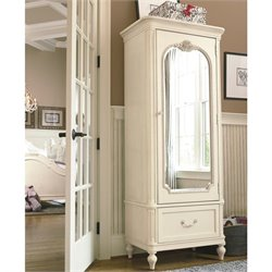 Smartstuff Gabriella Wood Armoire in Lace