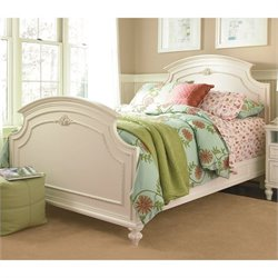 Smartstuff Gabriella Wood Full Panel Bed in Lace