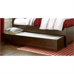 Smartstuff Freestyle Wood Trundle in Mocha