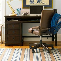 Smartstuff Paula Deen Guys 3 Drawer Wood Henry's Desk in Molasses