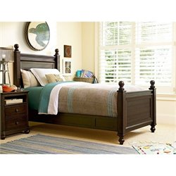 Smartstuff Paula Deen Guys Reading Twin Size Bed in Molasses