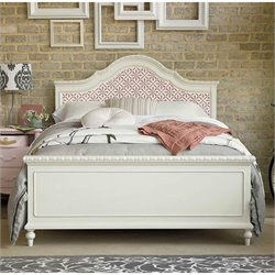 Smartstuff Bellamy The Trellis Full Size Bed in Daisy White