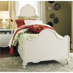 Smartstuff Bellamy Twin Size Bed in Daisy White