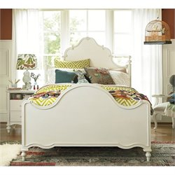 Smartstuff Bellamy Full Size Bed in Daisy White