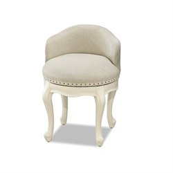 Smartstuff Genevieve Swivel Stool in French White