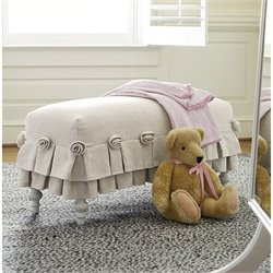 Smartstuff Genevieve Bed Bench in French White