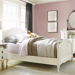 Smartstuff Genevieve's Wood Reading Full Bed in French White