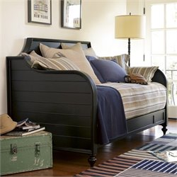 Smartstuff Black & White Wood Night and Day Bed in Black