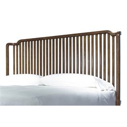 Paula Deen Home Dogwood Queen Slat Headboard in Low Tide