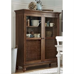 Paula Deen Home Dogwood The Bag Lady China Cabinet in Low Tide