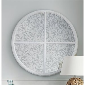 Paula Deen Home Dogwood Round Mirror in Blossom