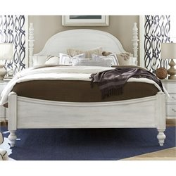 Paula Deen Home Dogwood King Poster Bed in Blossom
